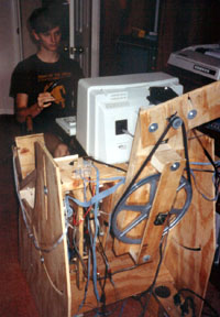 First Prototype, featuring feedback steering (1986)